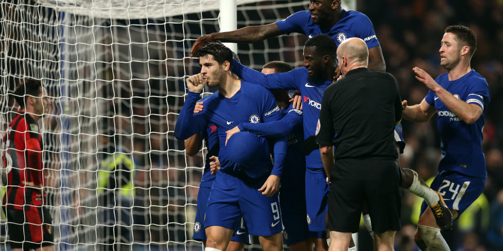 Late drama as Chelsea secure semi-final place