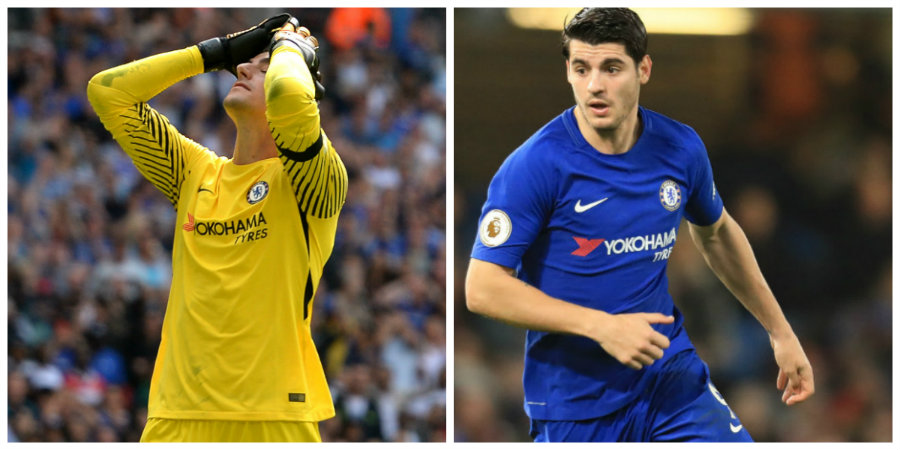 Courtois and Morata ruled out of Chelsea cup tie