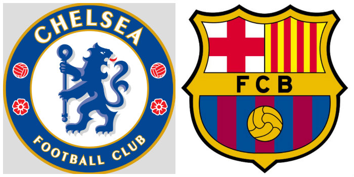 Chelsea v Barcelona line-ups: No striker, no Cahill, Willian plays