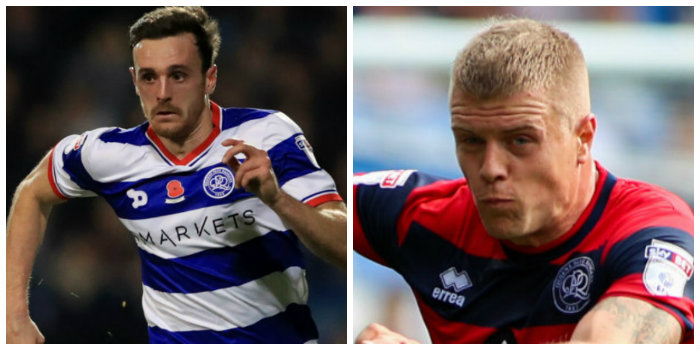 QPR's Robinson and Bidwell struggling with injuries