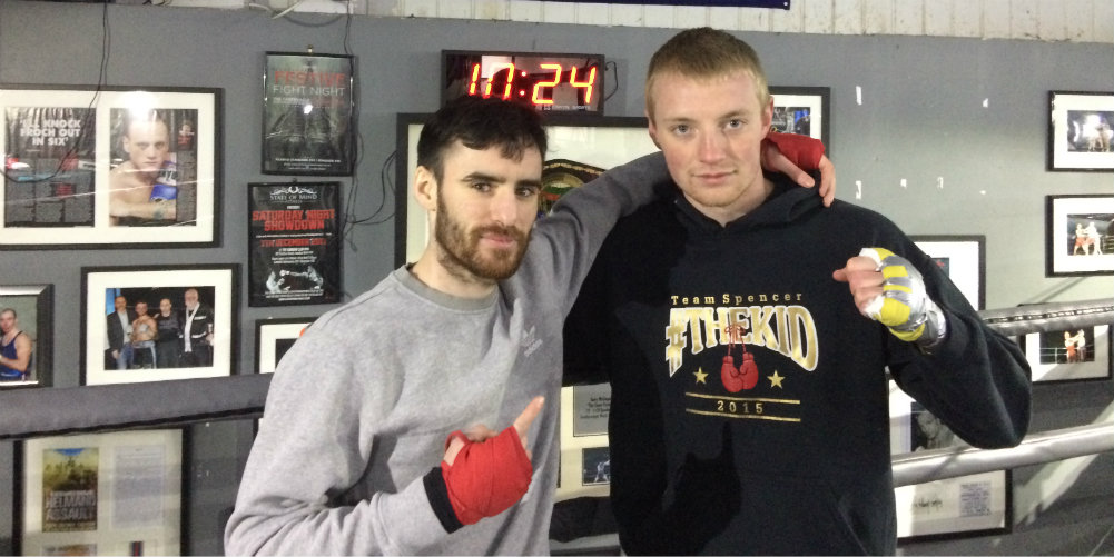 QPR fans Spencer and Hughes chase ultimate dream of boxing at Loftus Road