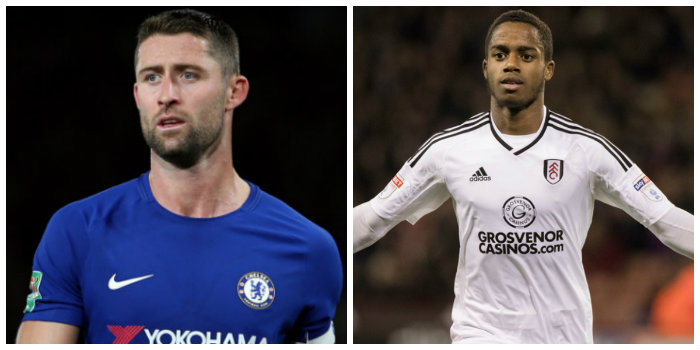 Cahill left out of England squad and Sessegnon gets Under-21 call-up