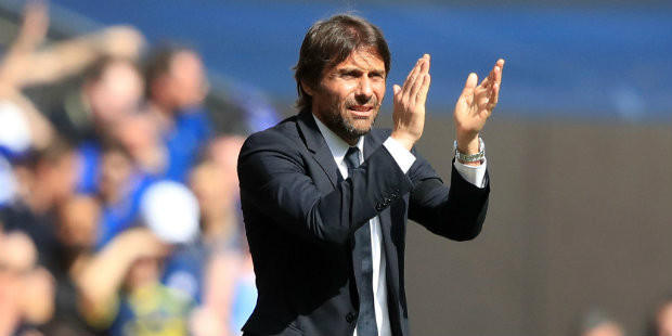 Conte hails his strikers after Wembley victory