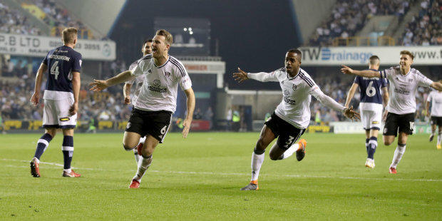 Fulham back up to second after crushing Millwall