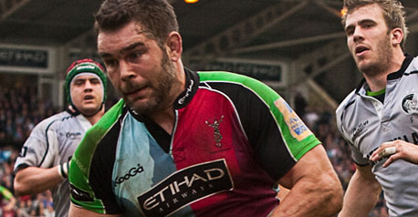 Record-breaker Easter agrees Quins deal