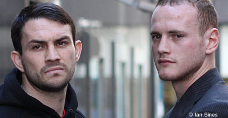 Groves and Smith meet ahead of clash