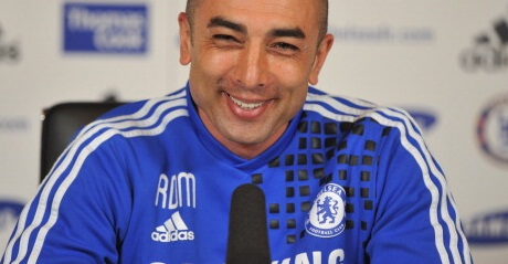 Di Matteo celebrates historic Chelsea win