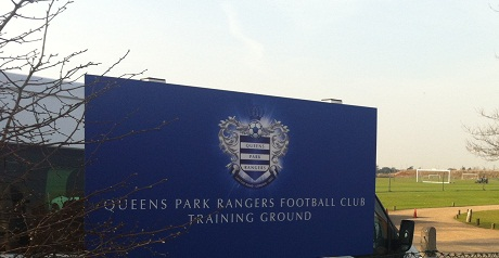Rangers have been training at Harlington for several years.