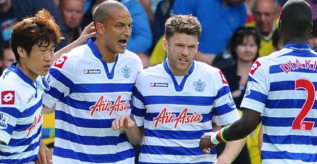 Norwich v QPR in pictures