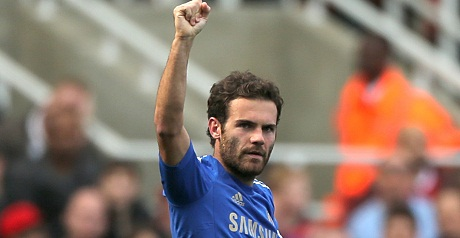 Mata returned to the Chelsea side.