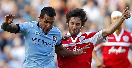 Man City v QPR in pictures
