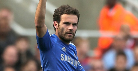 Mata will start Tuesday's match.