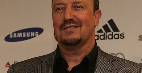 Benitez explains decision not to join players in saluting fans