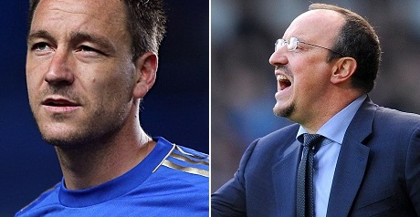 Benitez insists he and Terry 'agree 100%'