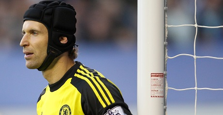 Petr Cech of Chelsea