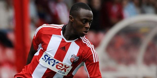 Moses Odubajo of Brentford