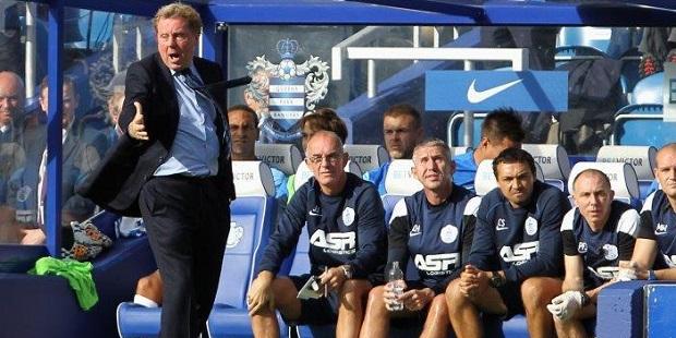 Boss Redknapp praises 'fantastic' QPR fans