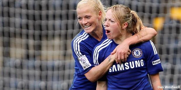 Davison nets again as Chelsea Ladies win