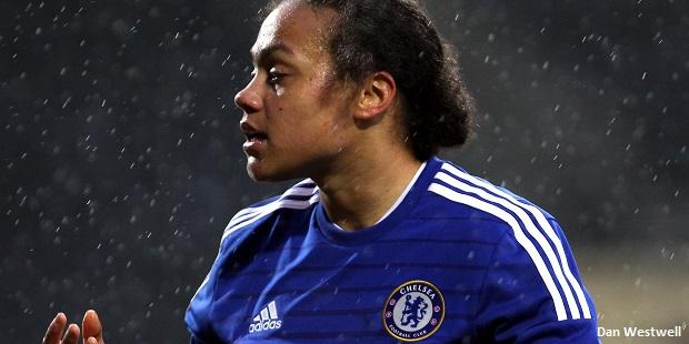 Spence double sends Chelsea Ladies top