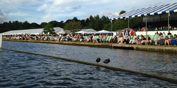 West London rowers in action at Henley
