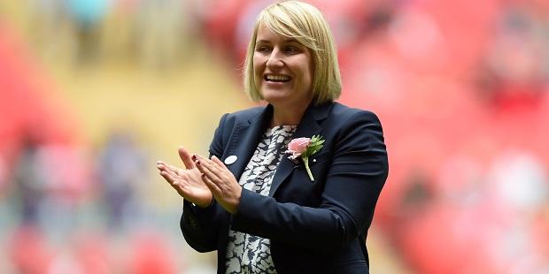 Hayes savours Chelsea Ladies' Wembley triumph