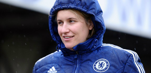 Chelsea Ladies manager Emma Hayes