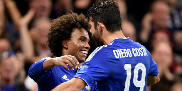 Willian and Diego Costa were crucial for Chelsea
