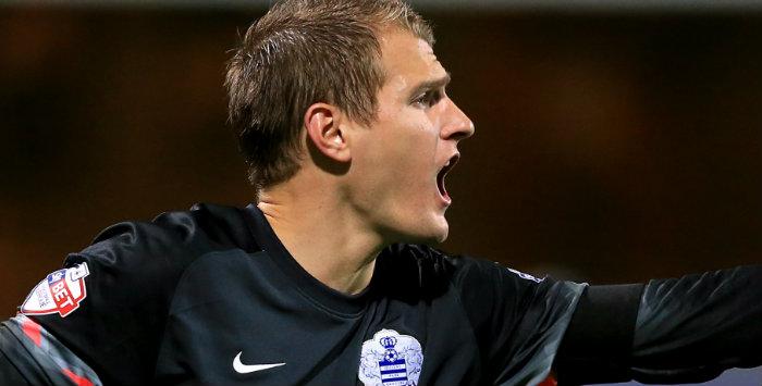 QPR keeper Alex Smithies