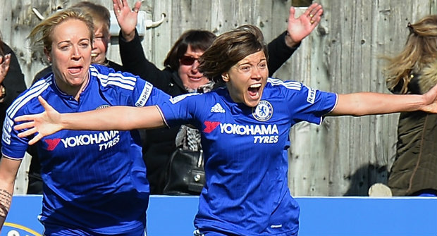 Chelsea Ladies score six in opening-day victory
