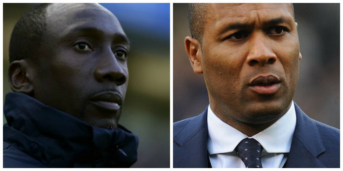 QPR: Jimmy Floyd Hasselbaink and Les Ferdinand