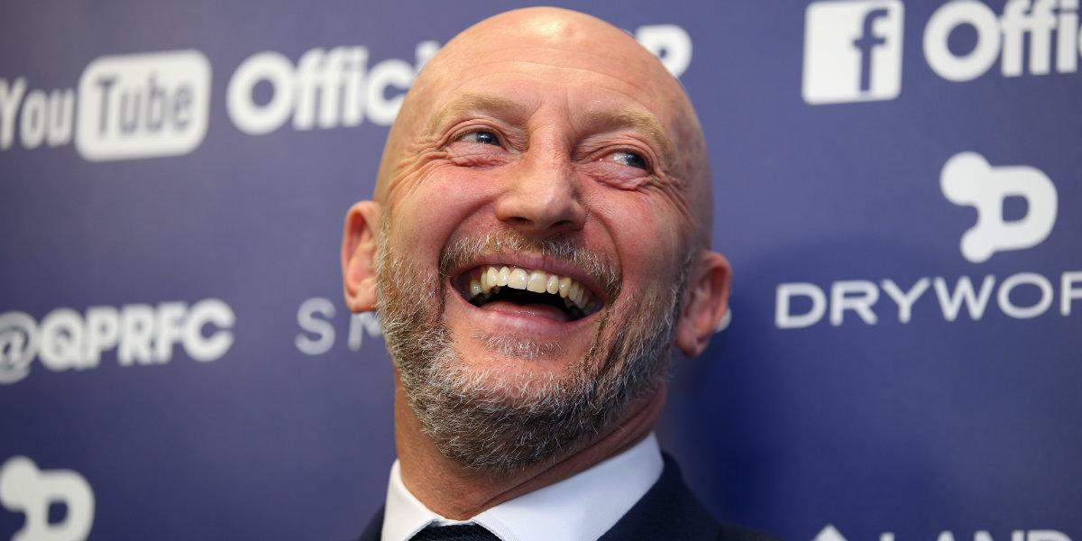 QPR manager Ian Holloway