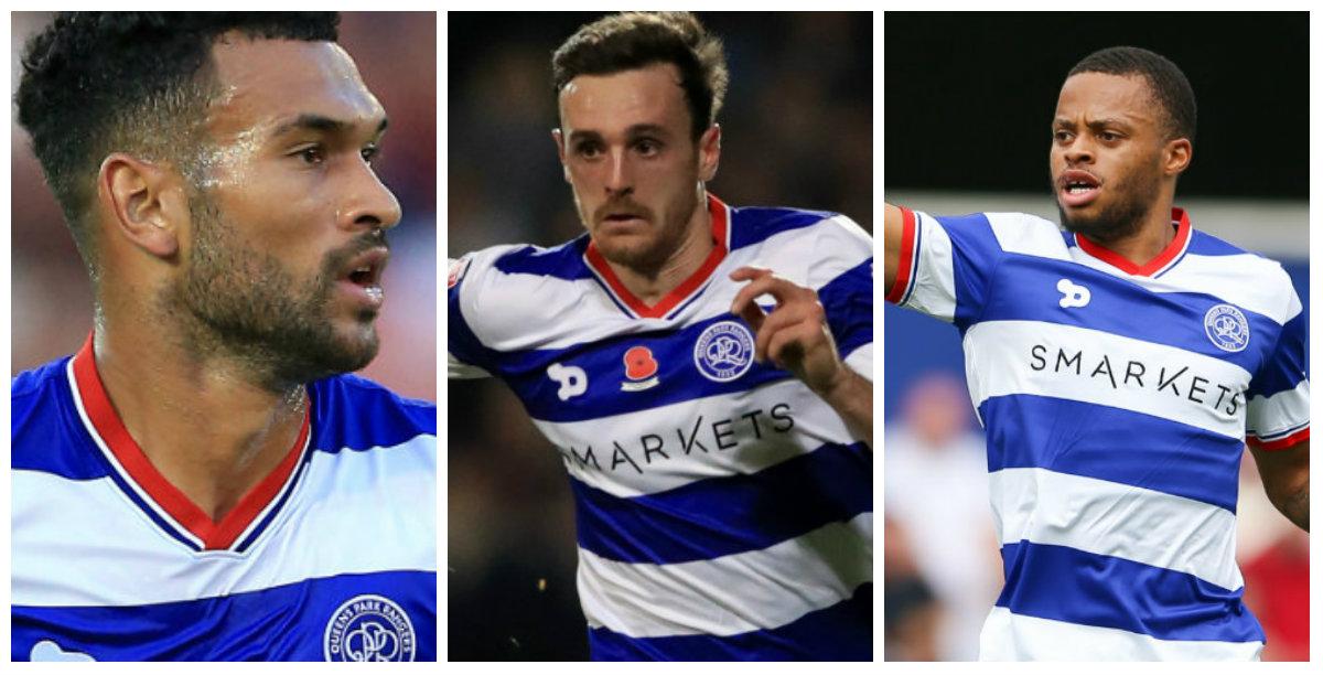 QPR: Steven Caulker, Jack Robinson and Jordan Cousins