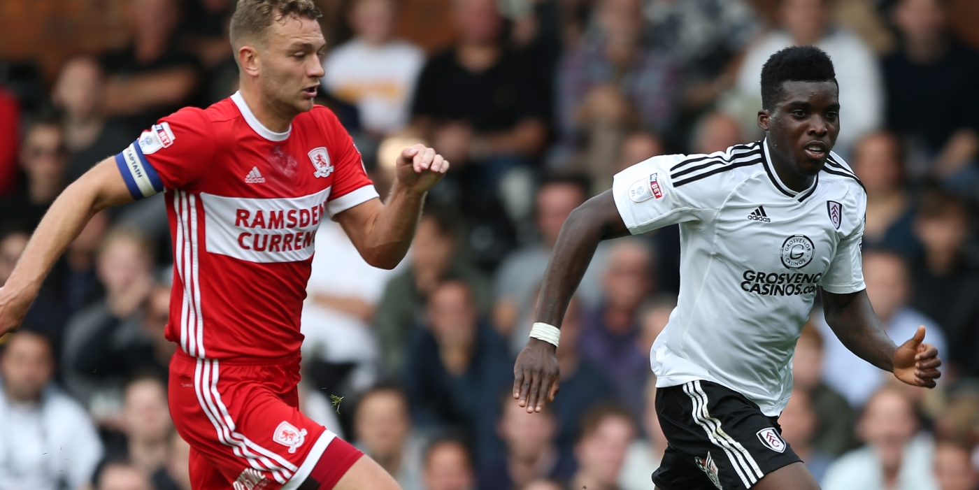 Fulham denied victory by late Middlesbrough goal