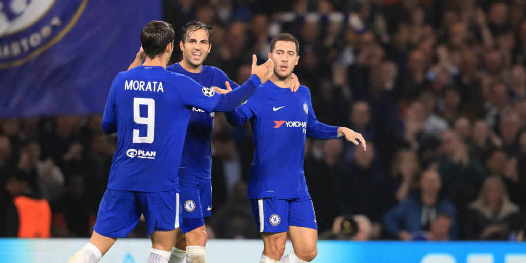 Fabregas: Hazard can make the difference at Wembley