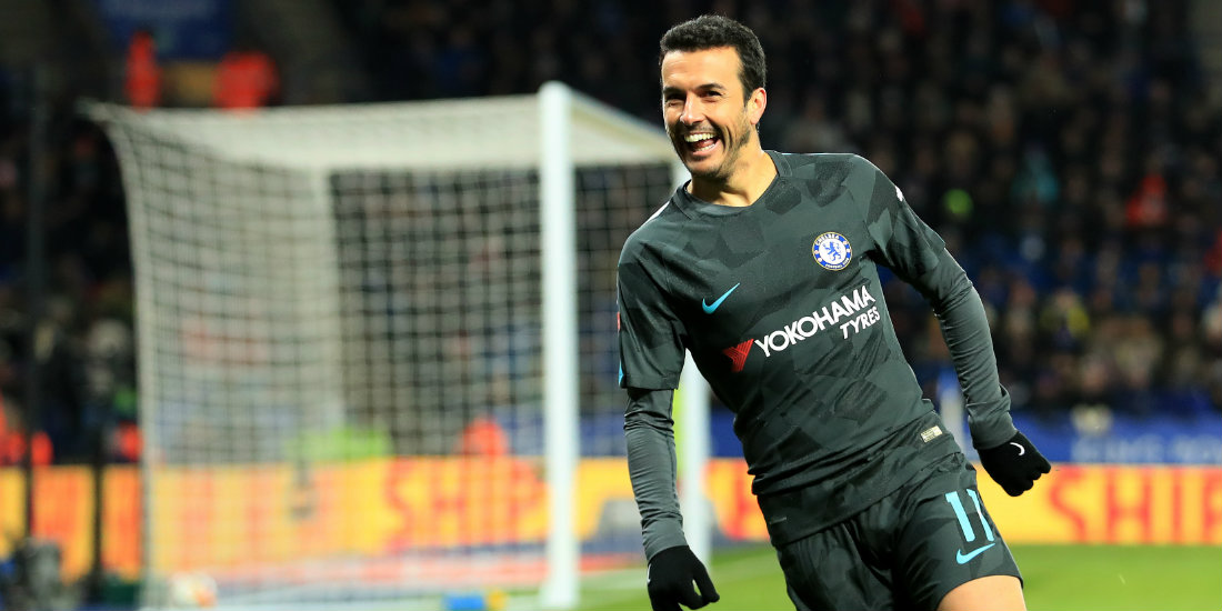 Pedro's extra-time winner puts Chelsea in semi-finals