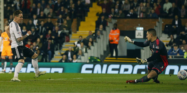 Johansen's goal puts Fulham second