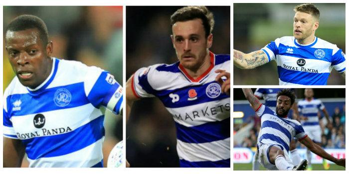 QPR: Nedum Onuoha, Jack Robinson, James Perch and Jamie Mackie