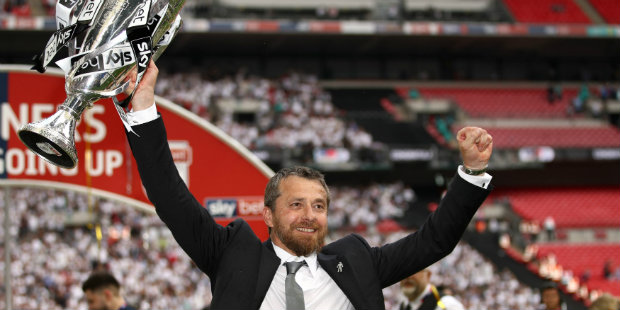 Fulham defeat Aston Villa in Championship play-off final to reach Premier League
