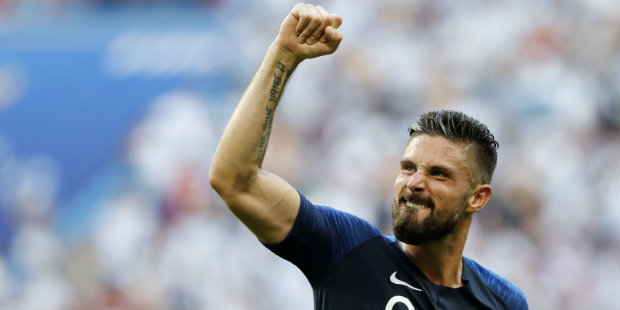 France edge out Belgium 1-0 to book grand final spot