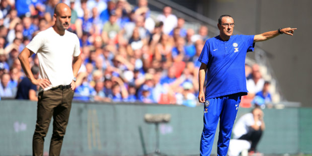 Sarri v Guardiola – the verdict after their tactical battle at Wembley