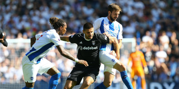Fulham are denied by Brighton comeback