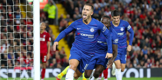 Hazard says he could spend rest of his career at Chelsea