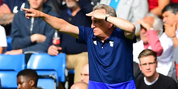 Warnock unhappy with Cardiff's defending