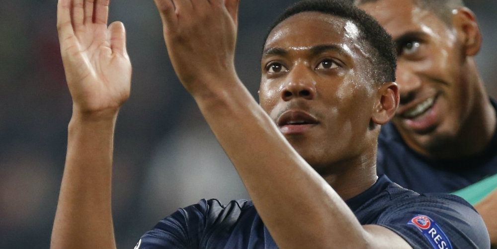 Chelsea keen to snap up Martial in January