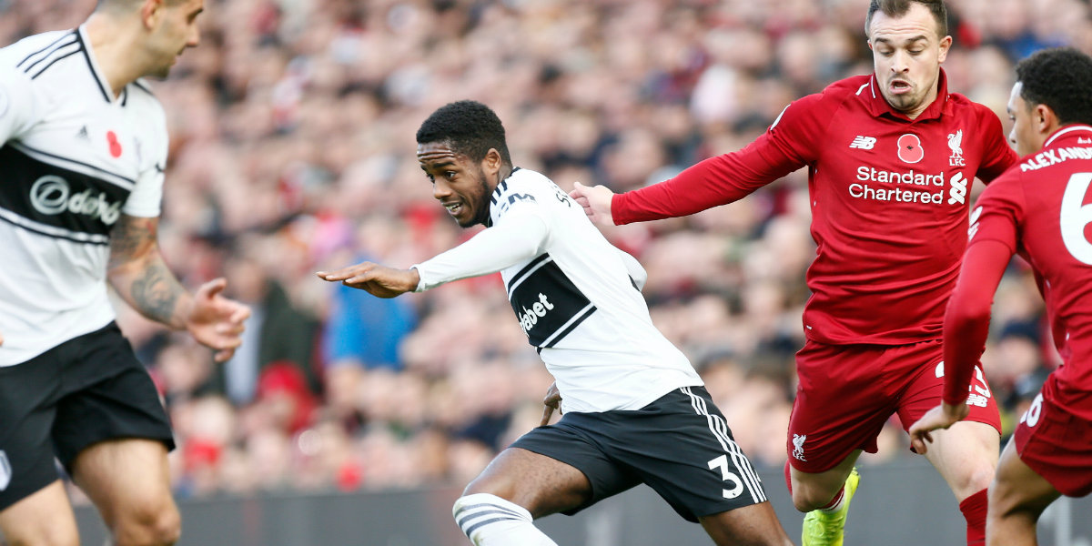 Liverpool make it six Fulham defeats in a row