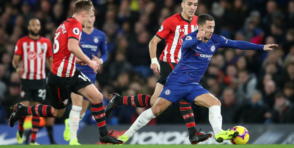 Chelsea held to goalless draw by Saints