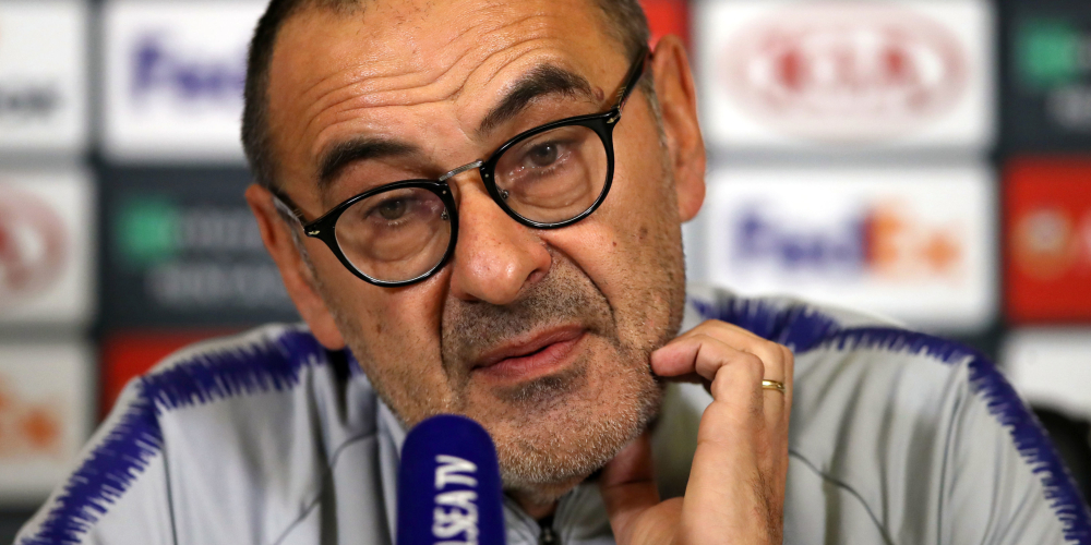 Sarri press conference – live updates as Chelsea boss gives his reaction to Europa League win