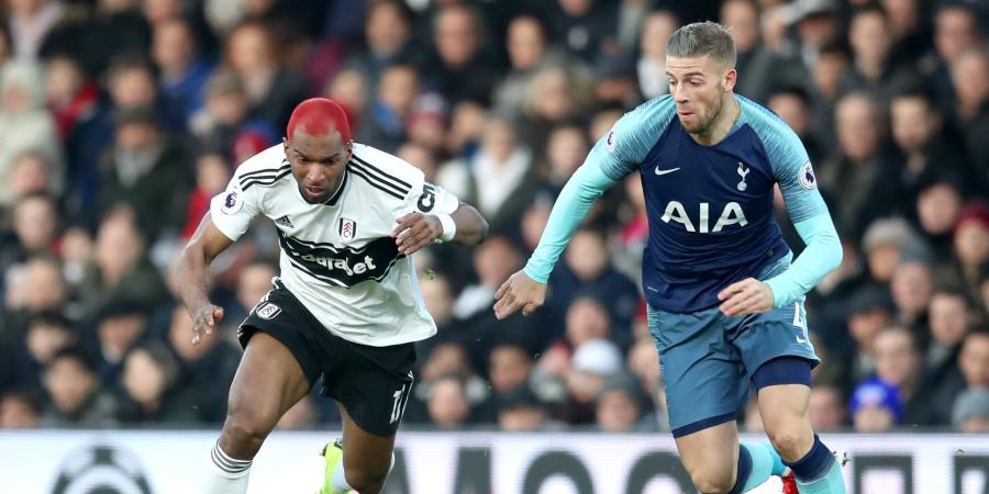 Fulham v Tottenham – as it happened