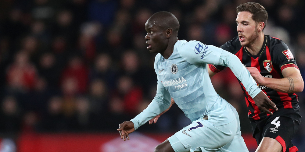Kante could be key to Chelsea's title chances