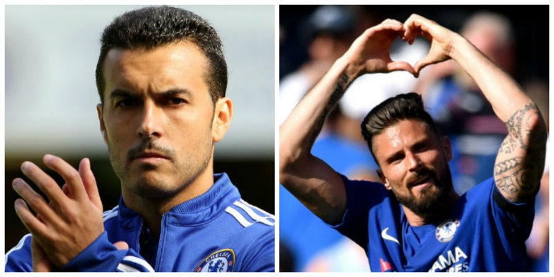Pedro and Giroud expected to return against Spurs